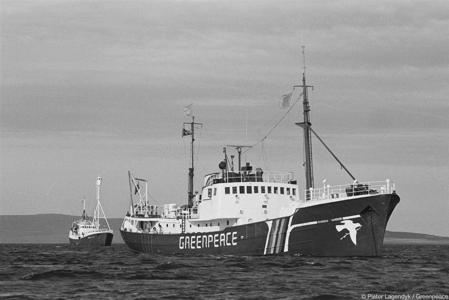Fotos históricas do Greenpeace
