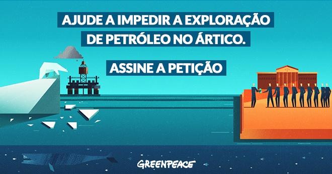 Assine a Petição - Salve o Ártico